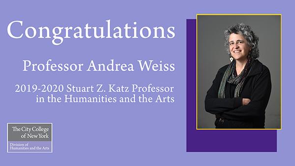 Congratulations Professor Weiss